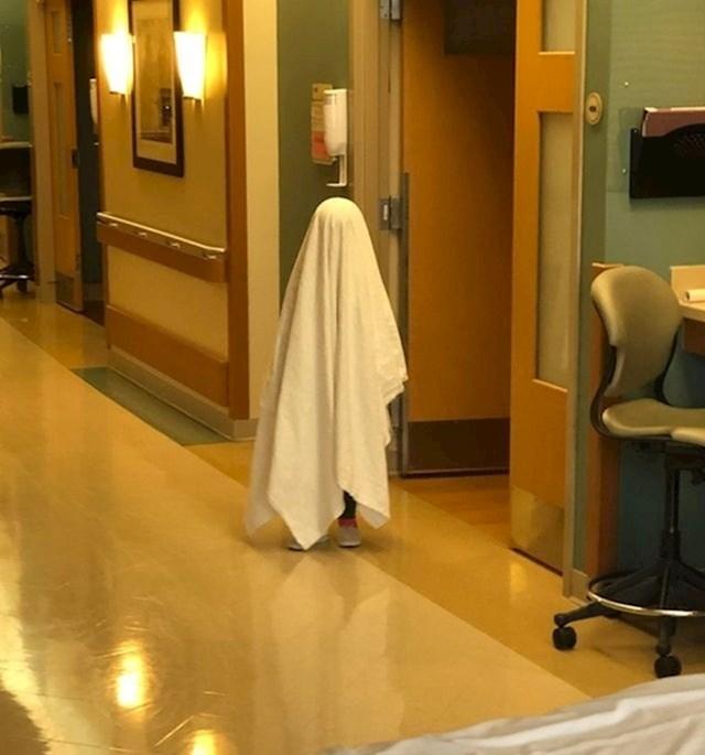 3. Moja kćerka se tijekom boravka u bolnici pretvarala da je duh