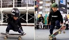 VIDEO Preslatka 3-godišnja skejterica zadivila je ljude na ulicama Tokija svojim umijećem