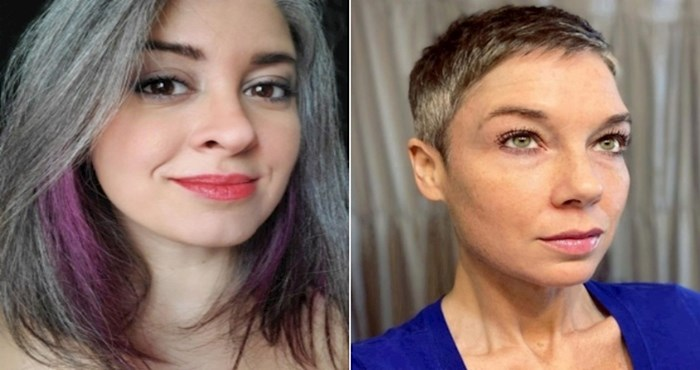 19 mladih žena koje su prestale bojiti kosu, prihvatile sijede i izgledaju fenomenalno