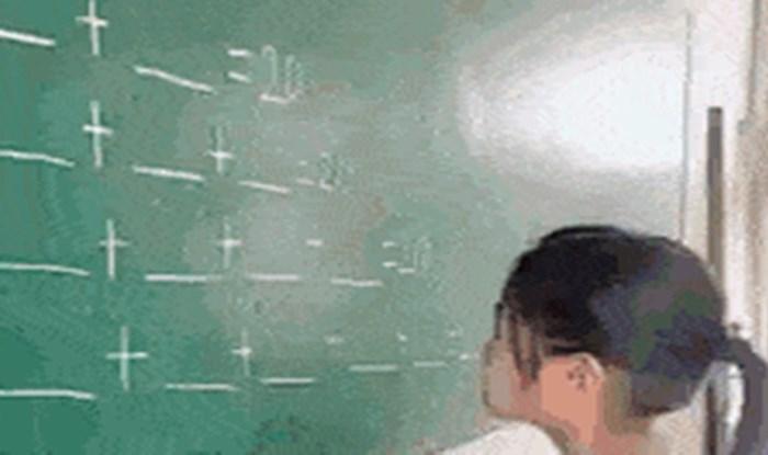 Mala genijalka pronašla je vrlo kreativno rješenje zadatka i preveslala svoju učiteljicu