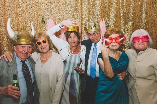 3. Bake i djedovi s vjenčanja na kojem sam nedavno bila.