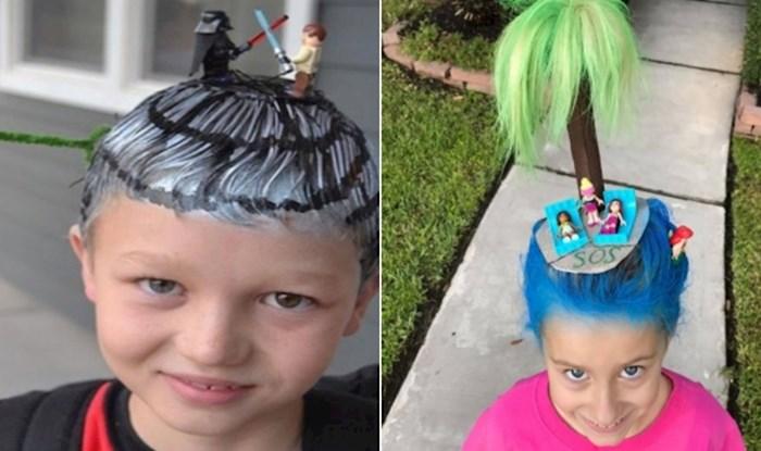 17 fotki klinaca koji su poželjeli imati lude frizure, a njihovi roditelji su im to omogućili