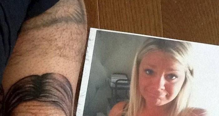 Htio je tetovirati lice svoje cure, a dobio nešto što je toliko loše da je genijalno