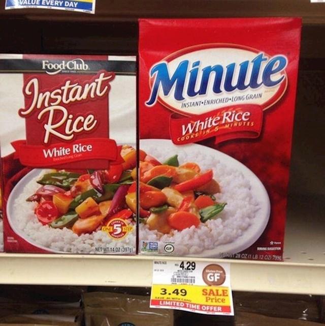 22. Fotke jela različitih proizvođača odgovaraju si kao lonac i poklopac