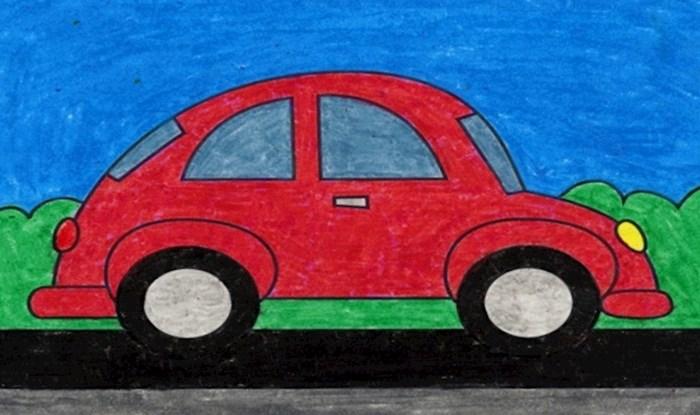 Netko je u stvarnom životu pronašao autić koji smo kao djeca svi crtali, ovo je hit