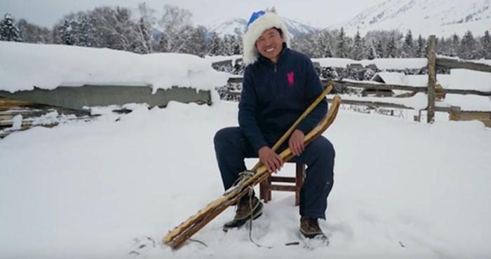 VIDEO U ovom kineskom selu baš svaki čovjek zna skijati