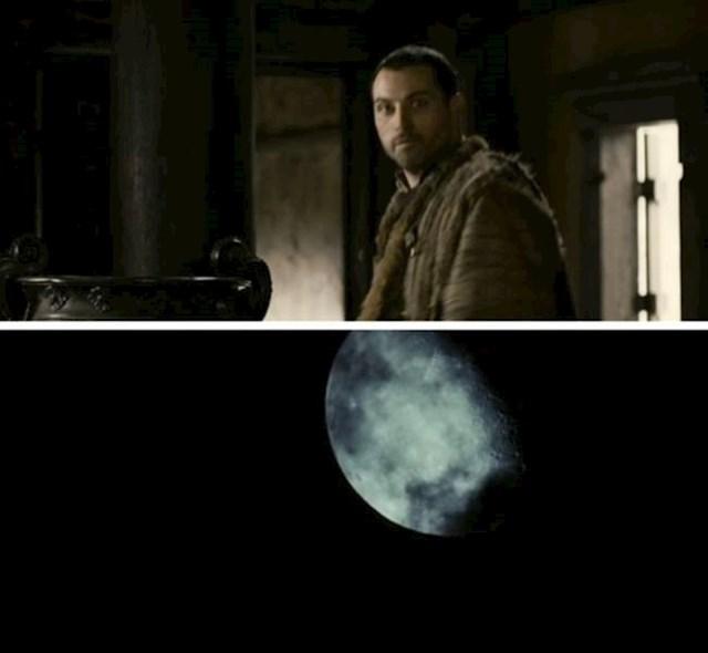 8. U Tristanu i Izoldi, Lord Marke naglasi da je noć punog mjeseca. Sljedeća scena pokazuje da baš i nije tako...