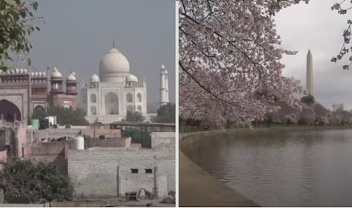 VIDEO Pogledajte kako izgledaju poznate turističke destinacije bez turista