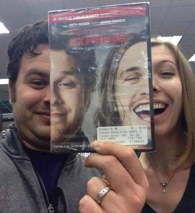 21. Supružnici koji izgledaju kao Seth Rogen i James Franco