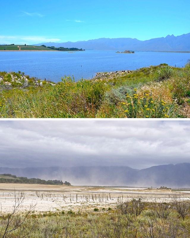 9. Nestalo je i ovo nekadašnje južnoafričko jezero.