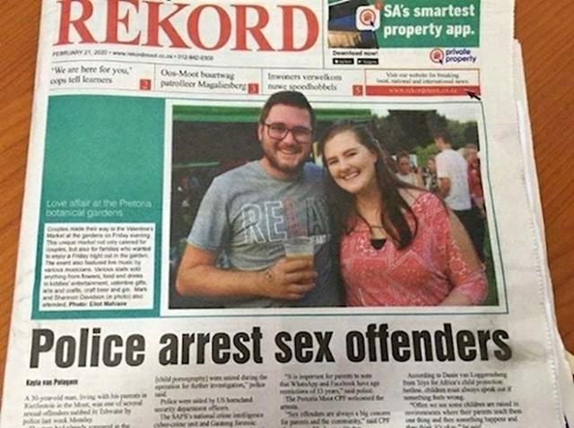 4. Fotograf im je rekao da će biti na naslovnici, ali ne i koji će naslov članka biti...