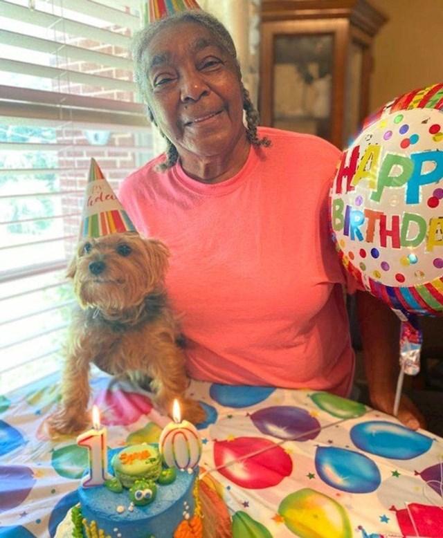 13. Ova baka priredila je rođendansku zabavu za 10. rođendan svojeg psića! Tu je i torta!