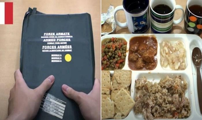 Popularni YouTuber usporedio je terenske obroke vojnika u 14 država, tu je i Hrvatska