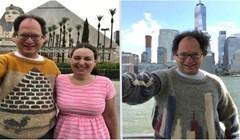20 fotografija čovjeka koji je ispleo džemper s motivima mjesta koja je posjetio