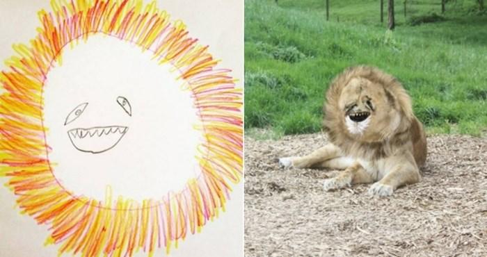 Kreativni tata oživio je crteže svoga sina, rezultati su istovremeno preslatki i jezivi