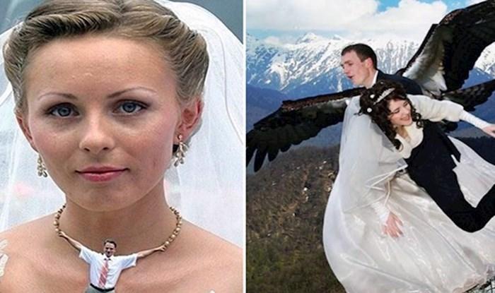 Fotografije s ruskih vjenčanja koje su urnebesno loše fotošopirane