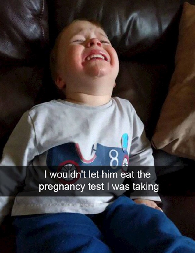 15. Nisam mu dozvolila da pojede test za trudnoću.