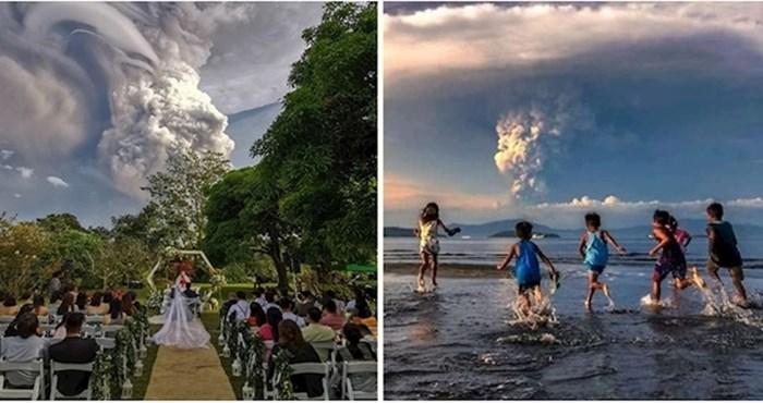 Neće vam biti svejedno kad vidite zastrašujuće fotke erupcije vulkana na Filipinima