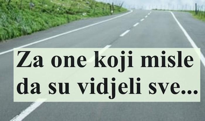 VIDEO Bizaran prizor sa zagrebačkih prometnica, morate vidjeti s čime se lik kreće cestom