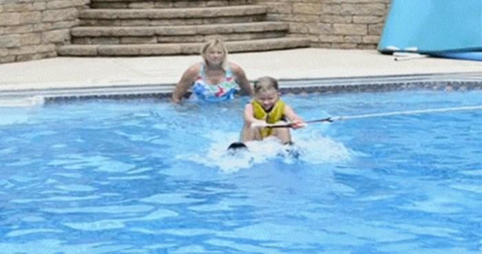 Djevojčica je uživala i zabavljala se u bazenu, netko je u trenu sve pokvario