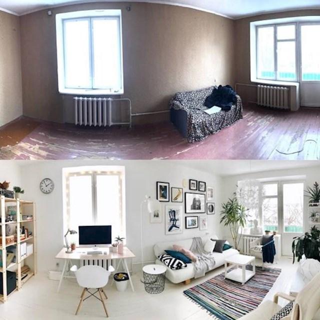 4. Samostalno su renovirali svoju kuću preko godinu dana. Konačno se nazire kraj, a rezultati su kao iz časopisa!
