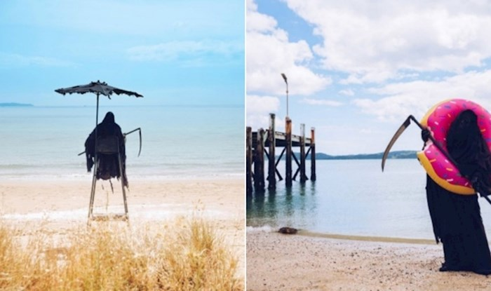 Čuvar jedne plaže na Novom Zelandu postao je viralni hit, odmah će vam biti jasno zašto