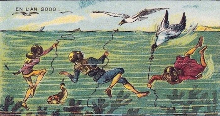 17 ilustracija koje pokazuju kako su ljudi prije 100 godina zamišljali budućnost
