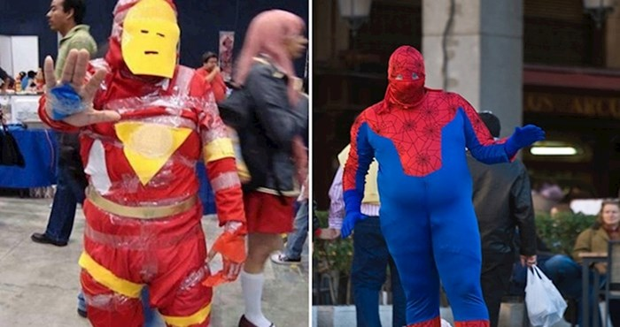 20 ljudi koji su se kostimirali toliko loše da to boli gledati