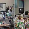 20 radnika čiji kućni ured izgleda kao neuredna, smrdljiva pećina