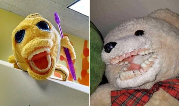 Plišanci u ortodontskim ordinacijama izgledaju kao iz noćnih mora, evo najstrašnijih primjera