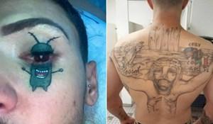 """23 osebujne tetovaže kojima su se ljudi """"ukrasili"""""""