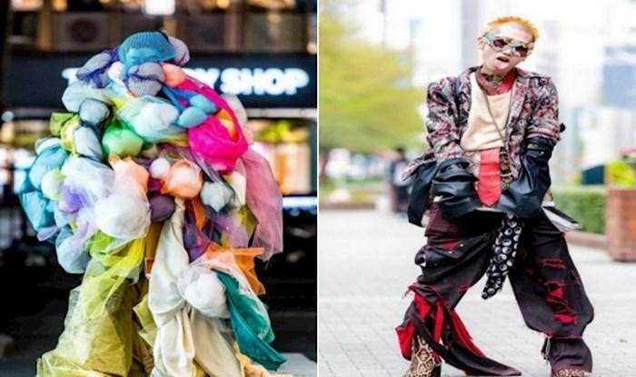 19 primjera koji pokazuju koliko je nesvakidašnja ulična moda u Japanu