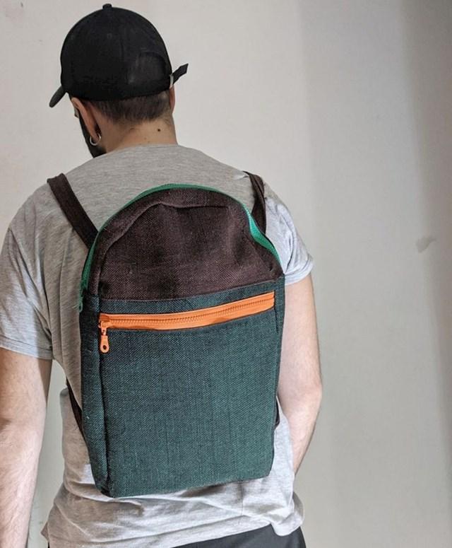 5. Poputno samostalno napravio sam ovaj ruksak!