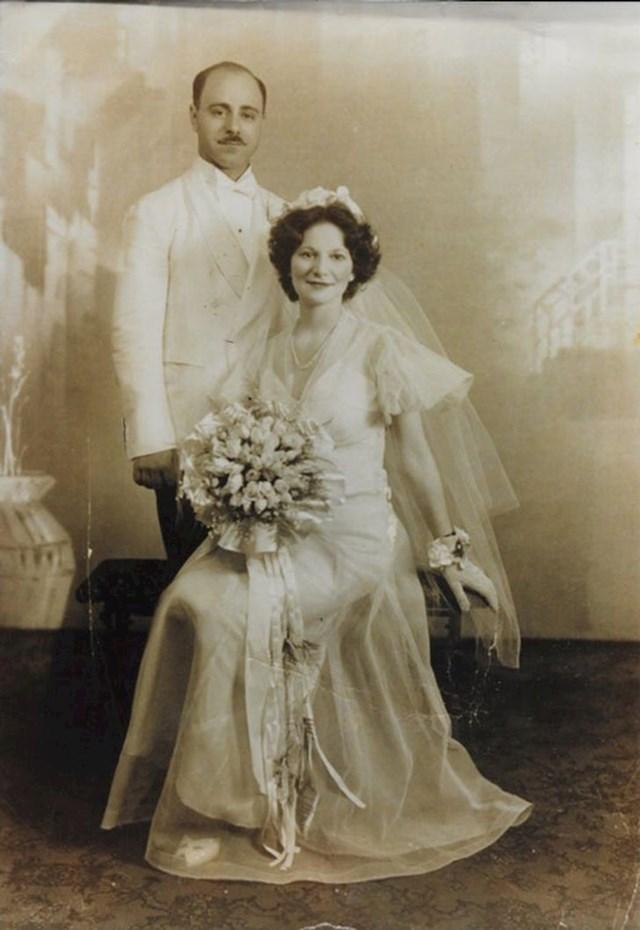 """15. """"Vjenčanje moje bake i djeda, 1937."""""""