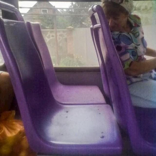 Zanimljiv dizajn sjedala, još bolje pozicioniranje.
