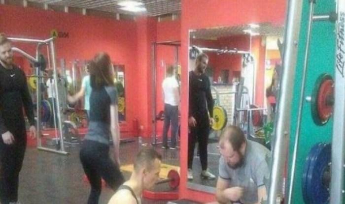 Nisu došli u teretanu da vježbaju tijelo, oni imaju drugu definiciju treninga