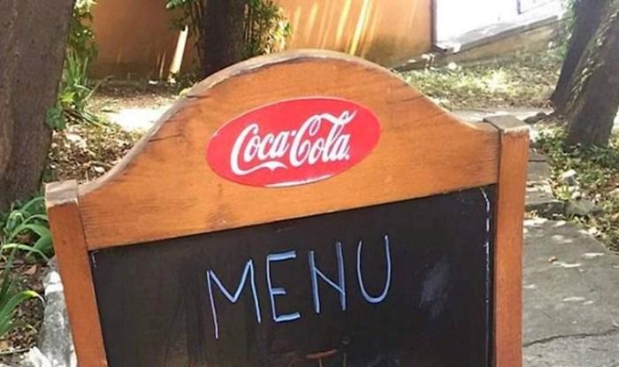 Ponuda ovog restorana iz Dalmacije nasmijala je sve prolaznike, ovo je urnebesno