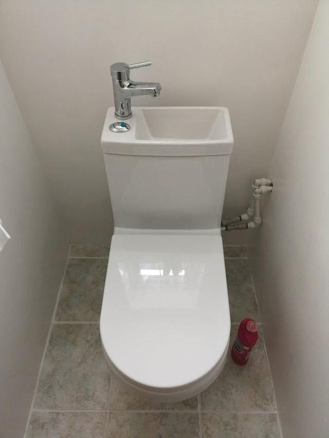8. Umivaonik i wc - 2 u 1!