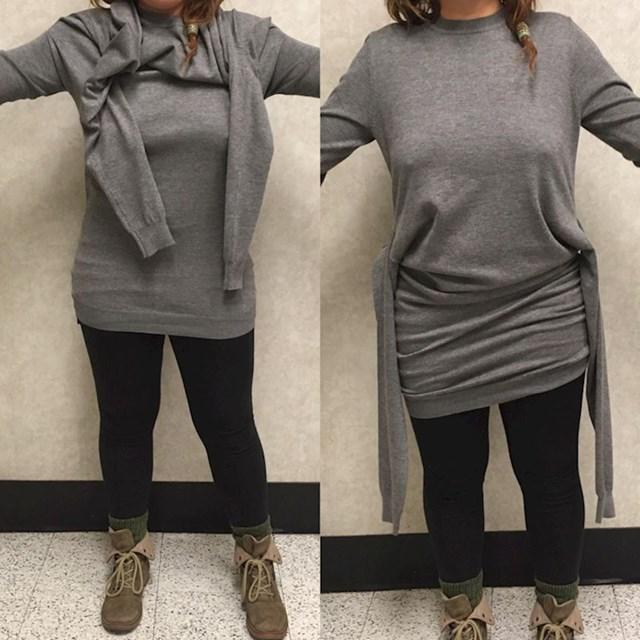 12. Džemper za ljude s ekstra parom ruku?