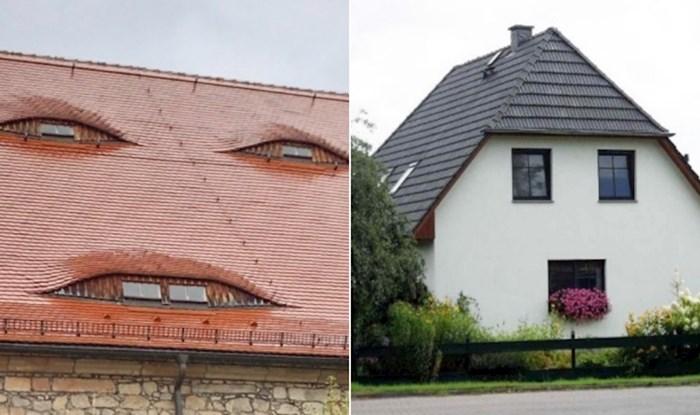 23 ekstremno čudne kuće koje izgledaju kao da vas gledaju