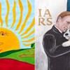 U ruskim školama postoji natjecanje u kojem se bira najbolji crtež Putina, ovo su najbolji primjeri