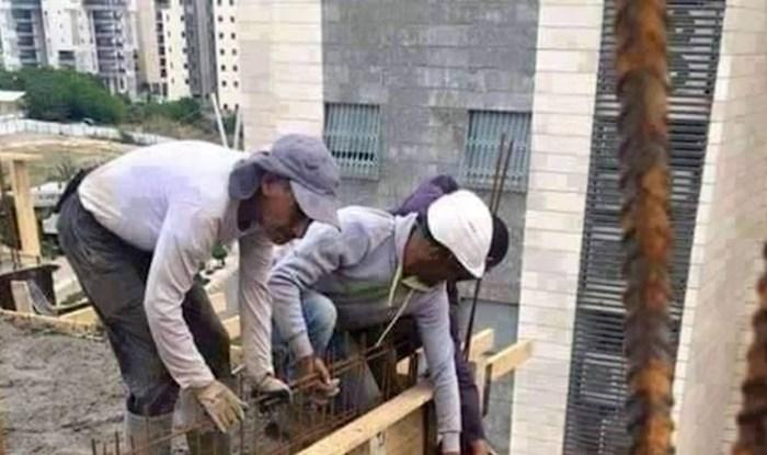 Smrznut će vam se krv u žilama kad vidite što rade ovi građevinski radnici