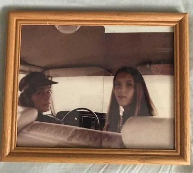 """9. """"Fotka mojih roditelja koja se nikada nije dogodila. Ovo su njihove dvije različite fotke koje su spojene i savršeno pašu zajedno!"""""""