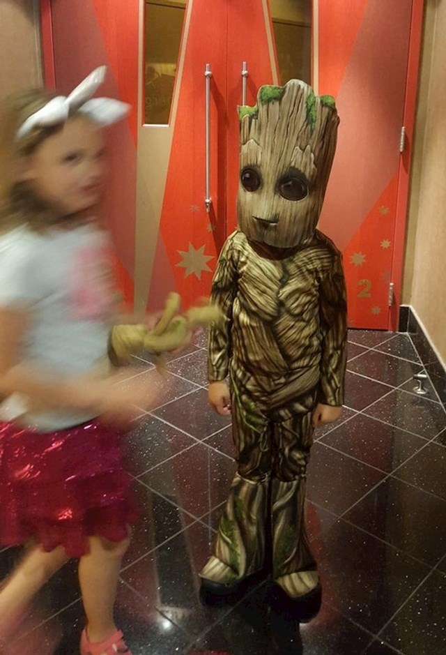 12. Jako je htio biti Groot...