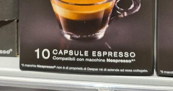Netko je na policama dućana primijetio kapsule za kavu stvarno bizarnog naziva, morate vidjeti