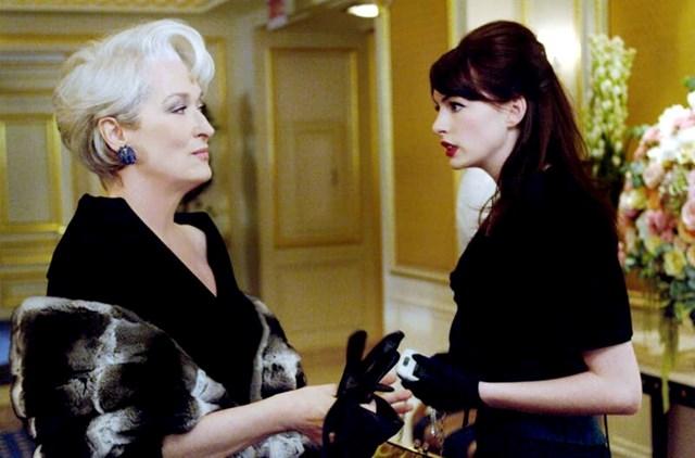 11. Produkciji filma Vrag nosi Pradu bilo je pre skupo plaćati put do Pariza za Maryl Streep