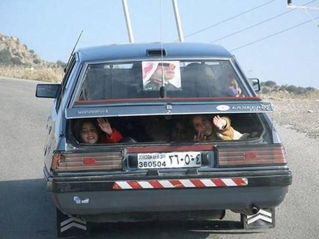 2. Neobičan transport djece
