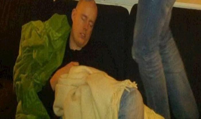 Zaspao je za vrijeme tuluma, pogledajte zašto mu to nije bilo baš pametno