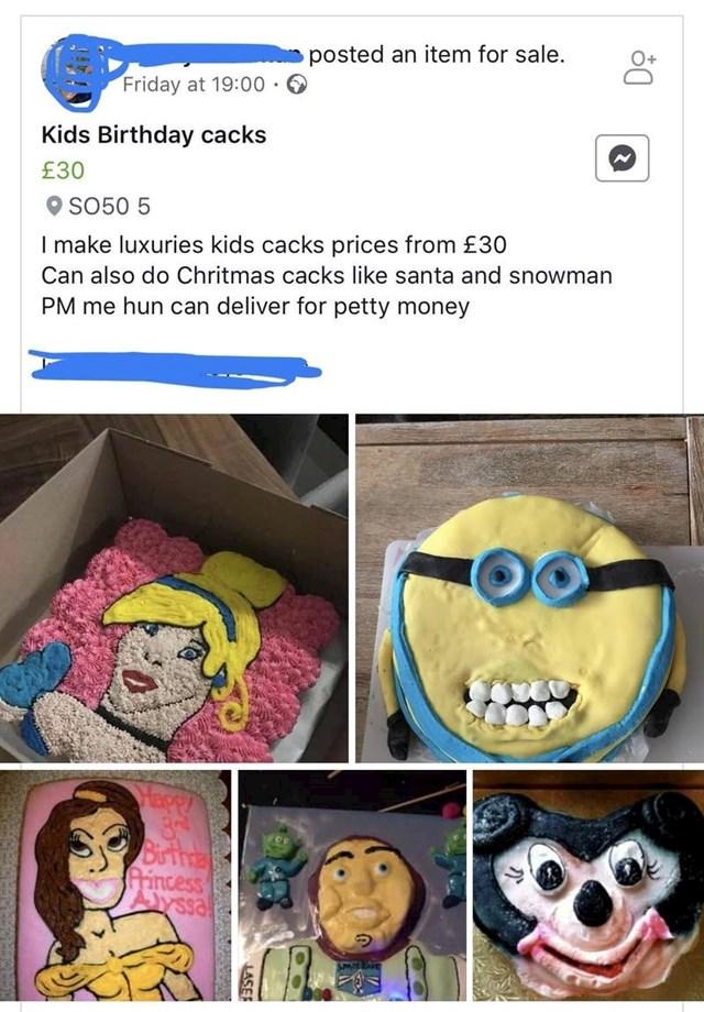 """10. """"Luksuzne"""" torte za dječje rođendane."""