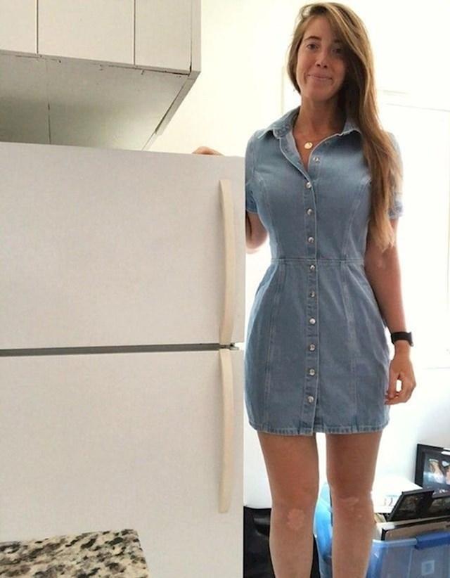 """""""Predstavljam vam svoj novi mini frižider."""""""